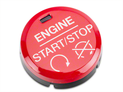 GT350/GT350R Style Red Push Start/Stop Button (15-17 All)