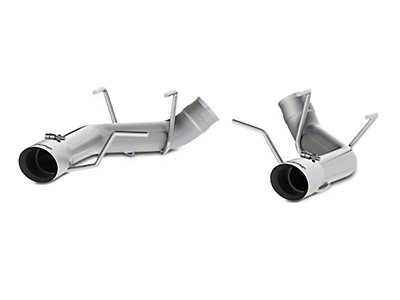 MBRP 3 in. Muffler Delete Axle-Back Exhaust - Stainless Steel (11-14 GT)