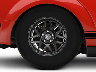 Forgestar F14 Drag Edition Matte Black Wheel - 15x10 (05-14 All; Excludes 07-14 GT500)