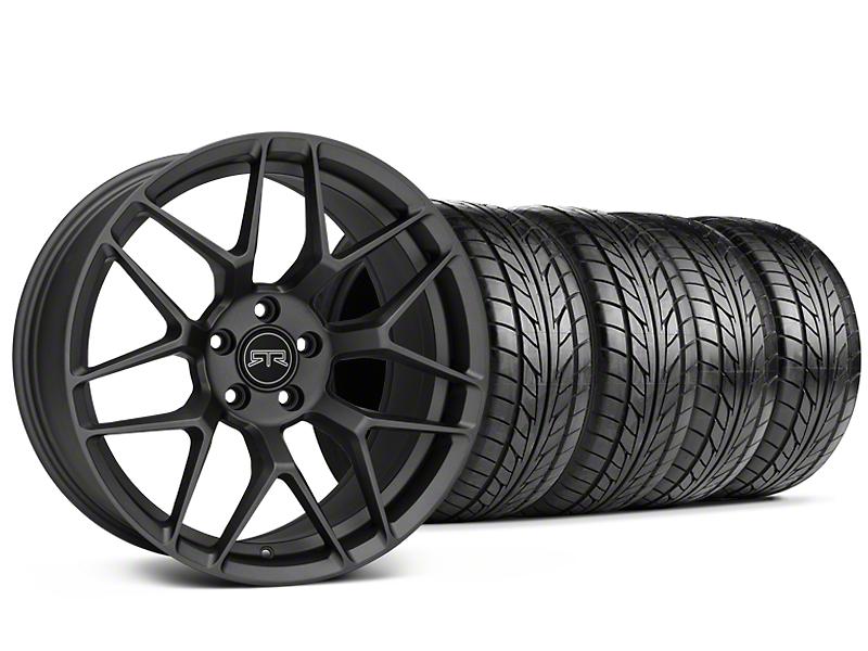 RTR Tech 7 Charcoal Wheel & NITTO NT555 G2 Tire Kit - 19x9.5 (05-14 All)