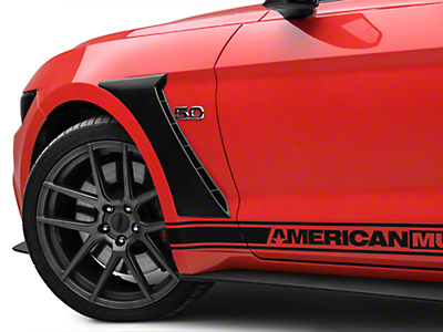 MP Concepts GT350 Style Fender Scoops - Unpainted (15-17 GT, EcoBoost, V6)