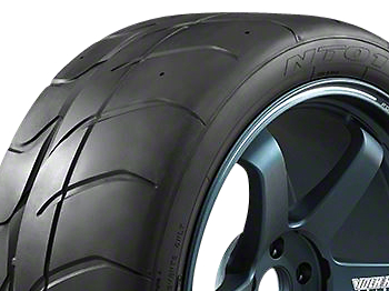 NITTO NT01 Competition Radial Tire (15 in., 16 in., 17 in., 18 in., 19 in., 20 in.)
