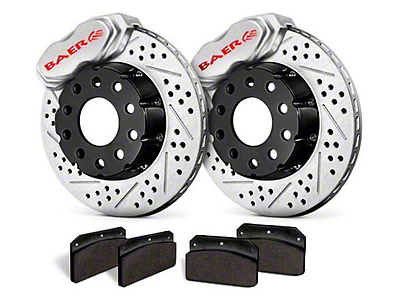 Baer SS4+ Deep Stage Rear Brake Kit - Clear (15-17 All)