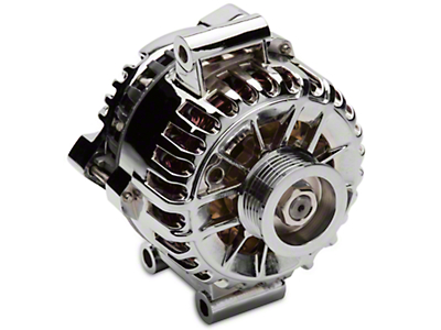 PA Performance Chrome Alternator - 135 Amp (05-08 V6)