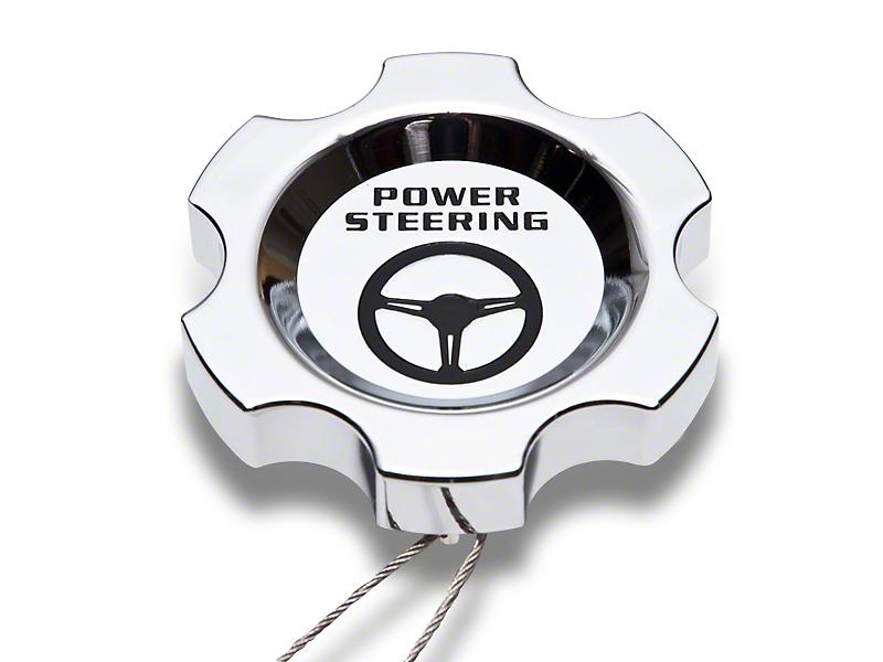 Modern Billet Chrome Power Steering Cap (96 -04 GT, Cobra; 05-10 All)