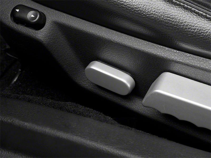 Modern Billet Satin Seat Adjuster Cover (05-14 All)
