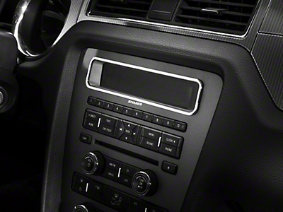 Modern Billet Chrome Main Display Bezel (10-14 w/o NAV)