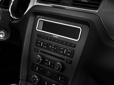 Modern Billet Satin Main Display Bezel (10-14 w/o NAV)