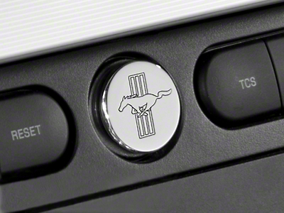 Modern Billet Chrome Power Plug - Tri-Bar Logo (05-09)
