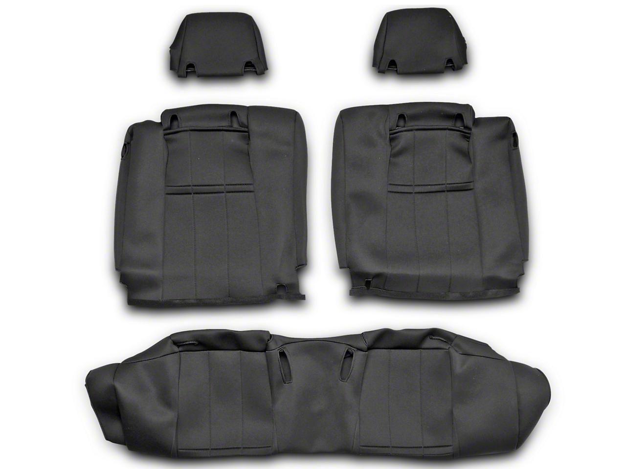 Caltrend NeoSupreme Rear Seat Cover - Black (10-14 All)
