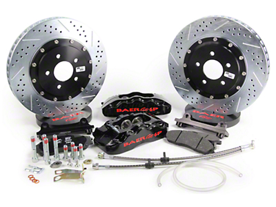 Baer Pro Plus Front Brake Kit - Black (05-14 All)