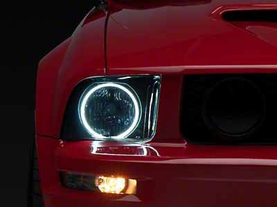 Smoked Headlights - CCFL Halo (05-09 GT, V6)