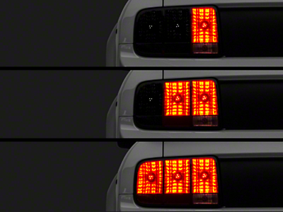 Raxiom LED Sequential Tail Light Kit - Plug-and-Play (05-09 All)