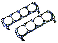 cylinder ford mustang 351w rear head performance main heads seal chrome valve 1993 0l valvetrain gaskets holley covers