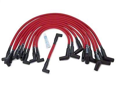 Performance Distributors Livewires 10mm Spark Plug Wires - Red (86-95 5.0L)