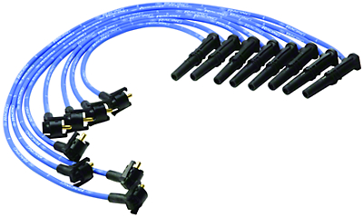 Ford Performance High Performance 9mm Spark Plug Wires - Blue (96-98 GT)