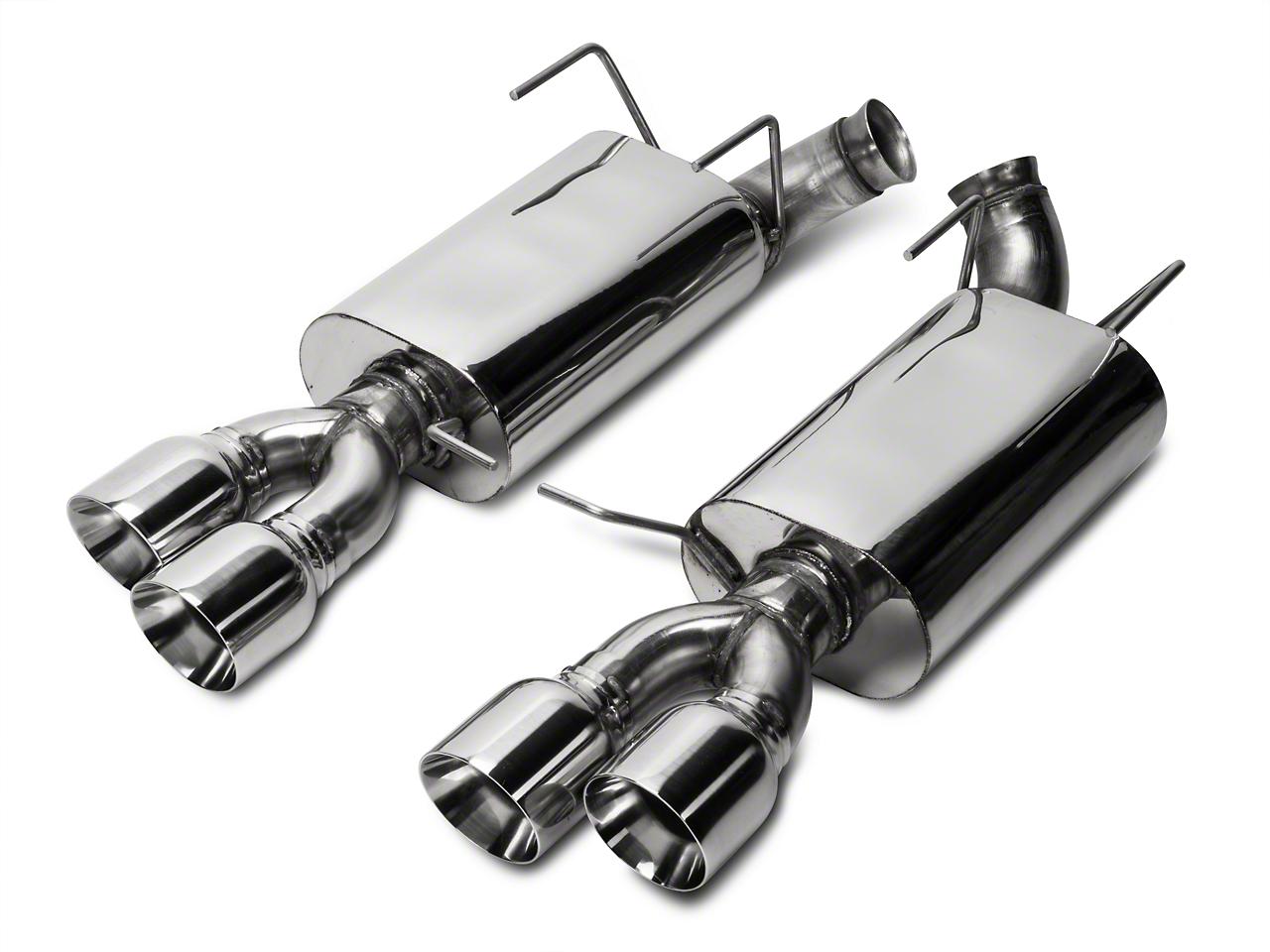 Kooks Performance Axle-Back Exhaust w/ Quad Tips (13-14 GT500)