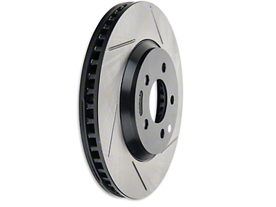 StopTech Slotted Rotors - Front Pair (05-10 GT)