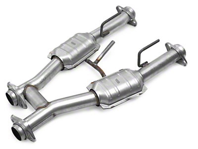 BBK Catted H-Pipe (79-93 5.0L w/ Long Tube Headers)