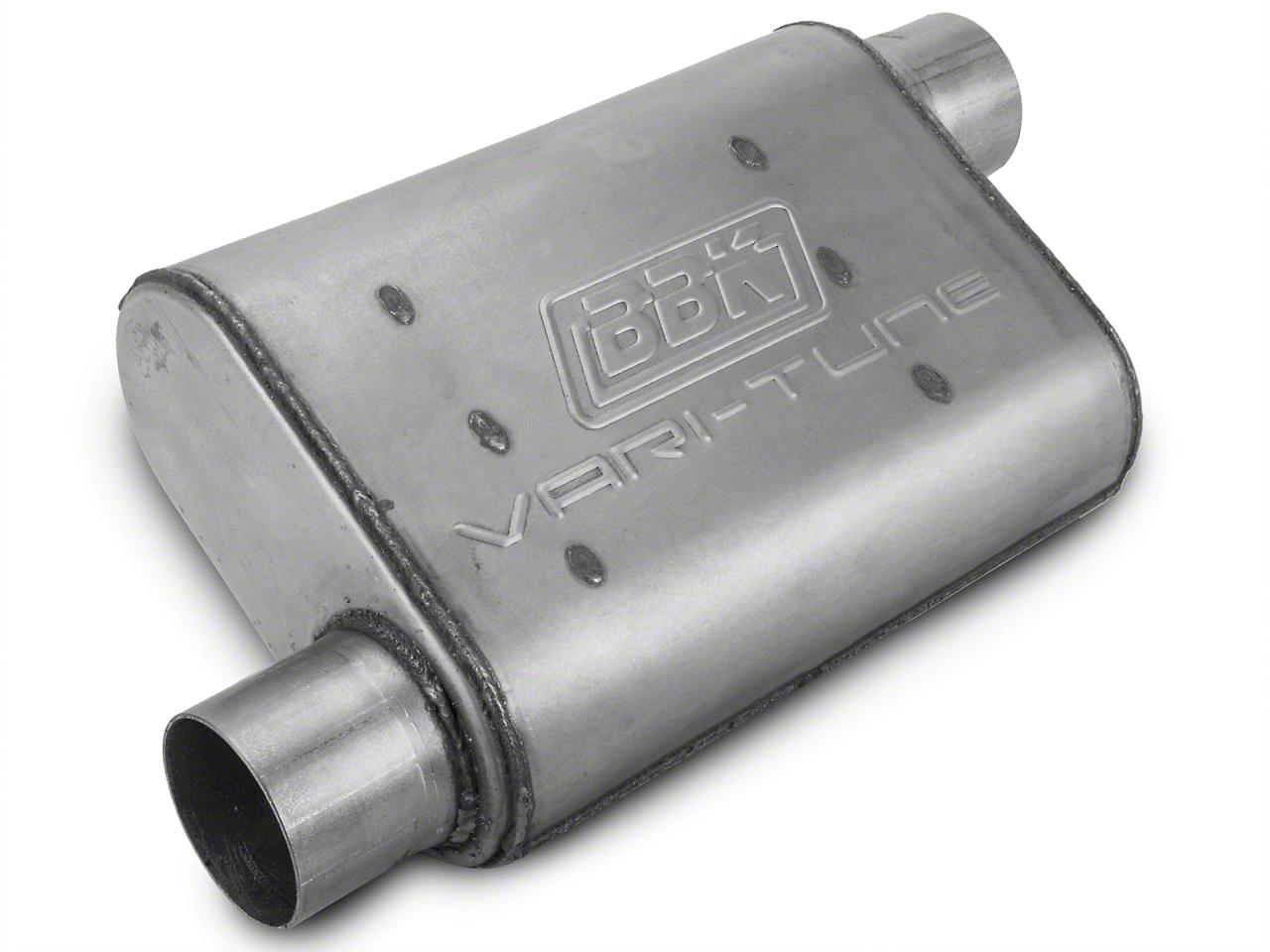 BBK Varitune Muffler - Aluminized 2.75 in. (79-04 All, Excludes 99-04 Cobra)