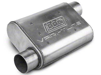 BBK Varitune Muffler - Stainless Steel 3 in. (79-04 All, Excluding 99-04 Cobra)