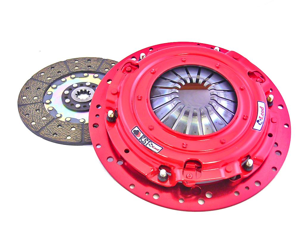 McLeod RST Twin Disc 800HP Clutch - 10 Spline (Late 01-10 GT; 03-04 Mach 1, Cobra)