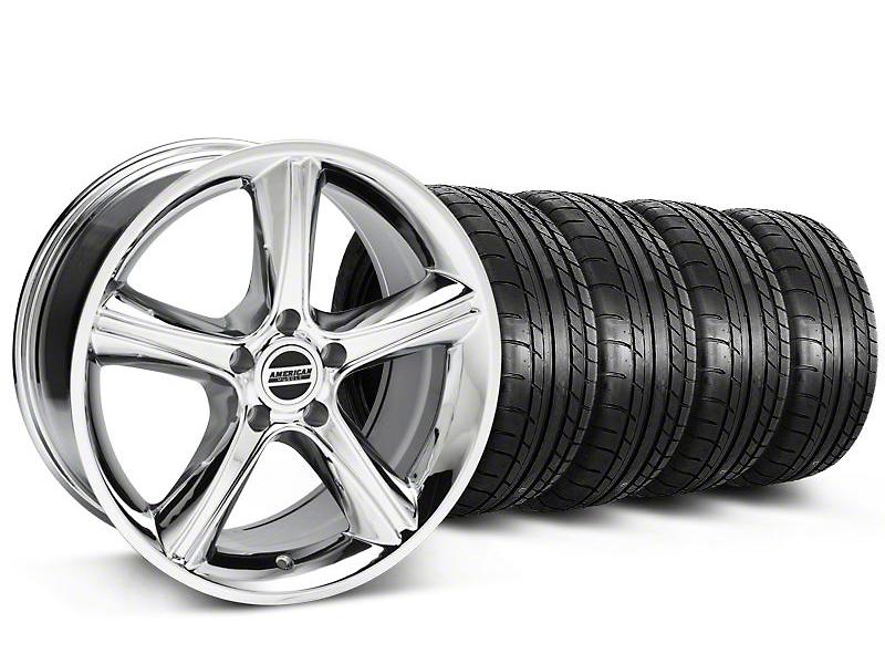 2010 GT Premium Style Chrome Wheel & Mickey Thompson Tire Kit - 18x9 (05-14)