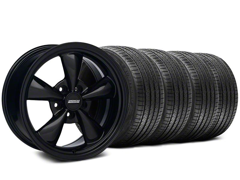 Bullitt Solid Black Wheel & Sumitomo Tire Kit - 17x9 (87-93 5 Lug Conversion)