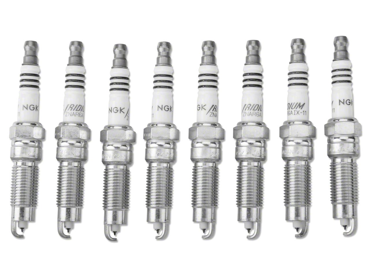 NGK Iridium IX Performance Spark Plugs (Mid 08-10 GT, Bullitt)