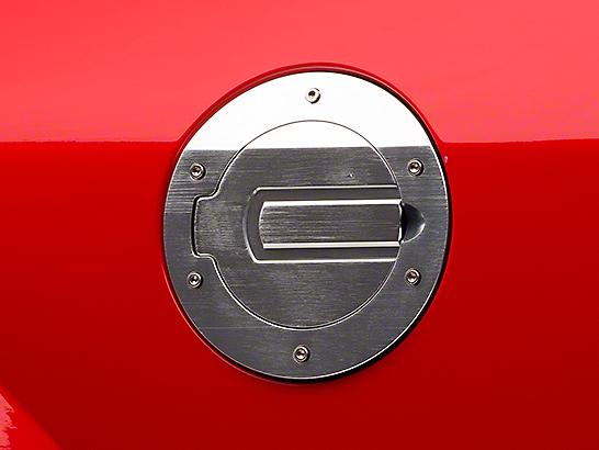 SHR Brushed Fuel Door (05-09 All)
