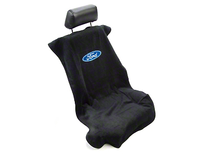 SpeedForm Seat Armour Protective Cover - Black - Ford Oval (79-14 All)