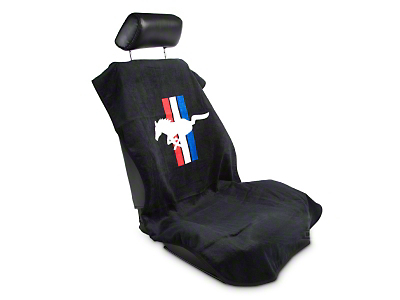 MethodWorks Seat Armour Protective Cover - Black - Pony (79-14 All)