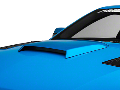 Roush Pre-Painted Hood Scoop - Vista Blue (05-09 Exc.GT500)
