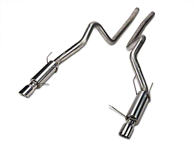 MBRP Race Series Cat-Back Exhaust - Stainless Steel (11-14 GT)