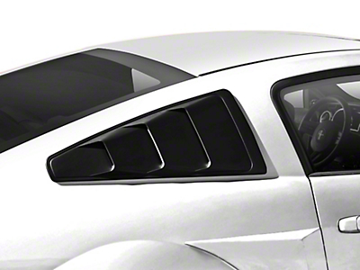 MMD Quarter Window Louvers - Matte Black (05-14 All)