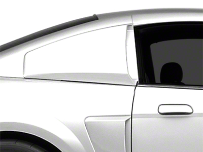 MMD Pre-Painted Quarter Window Louvers - Black (99-04 All)
