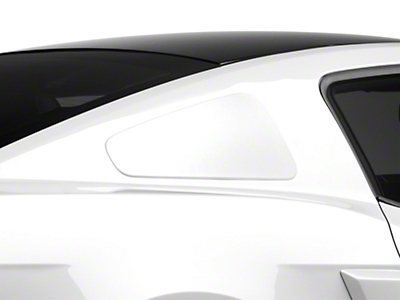 MMD GT350 Style Window Covers - Unpainted (10-14 All)