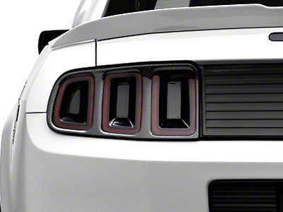 MMD Tail Light Trim - Carbon Fiber (13-14 All)