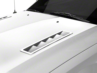 MMD Hood Vent Louvers - Pre-Painted (05-12 GT, V6)