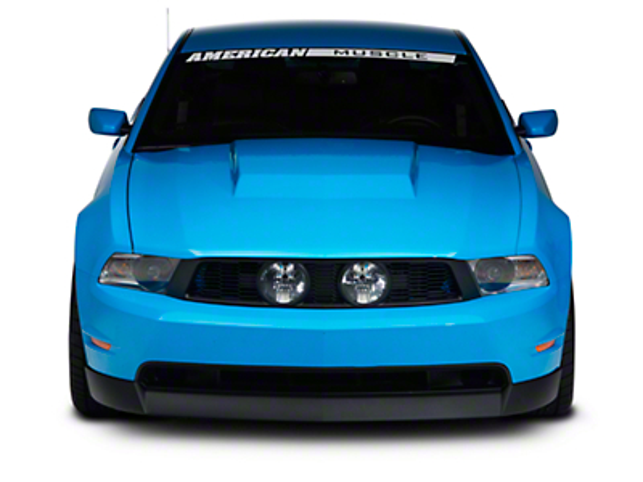 Cervini's C-Series Hood - Unpainted (10-12 GT, V6)