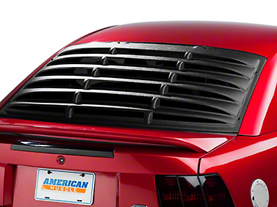 SpeedForm Rear Window Louvers - Textured ABS (94-04 All)