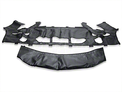 Covercraft Colgan Custom 2-Piece Bra - Carbon Fiber (07-09 GT500)