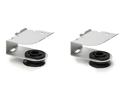 Mishimoto Aluminum Upper Radiator Brackets (97-04 All)