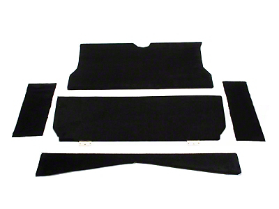 SpeedForm Rear Seat Delete Kit - Coupe - Black (79-93 All)