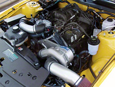 Procharger Stage II Intercooled Supercharger System - Complete Kit (05-10 V6)