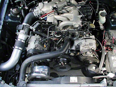 Procharger Stage II Intercooled Supercharger System - Complete Kit (99-03 V6)