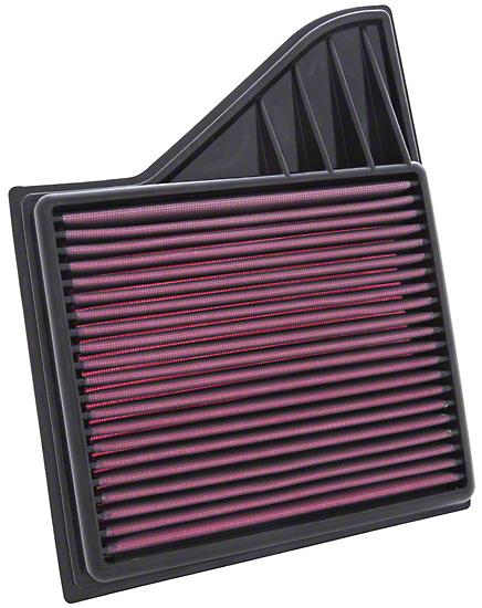 K&N Drop-In Replacement Air Filter (10-14 GT; 11-14 V6; 12-13 BOSS)