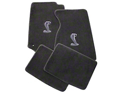 Modern billet mustang cobra stainless steel bumper insert for 03 cobra floor mats