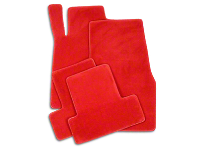 Lloyd Front & Rear Floor Mats - Red (11-12 All)