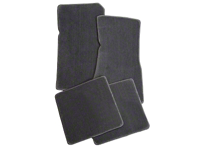 Lloyd Front & Rear Floor Mats - Gray (79-93 All)